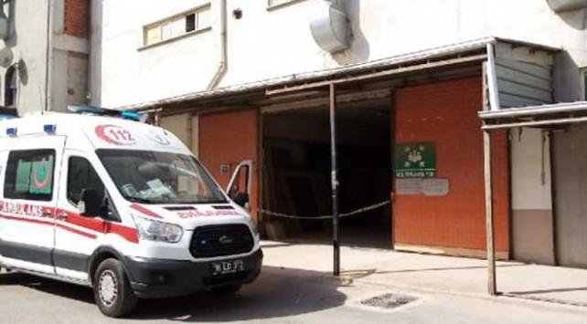 Bursada yük asansöründe sıkışan işçi öldü