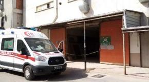 Bursa'da yük asansöründe sıkışan işçi öldü