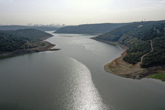 İstanbulun barajlarındaki doluluk oranı yüzde 35,7 seviyesinde