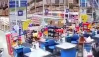 Brezilya'da süpermarket rafları insanların üzerine devrildi: 1 ölü, 8 yaralı