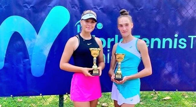Genç tenisçi Melisa Şenli Kuzey Makedonyada şampiyon oldu