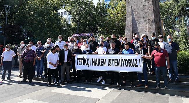 Trabzonspor taraftar derneklerinden hakem tepkisi