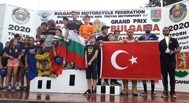 Türkiye Balkan Milletler Motokros Kupasında üçüncü oldu