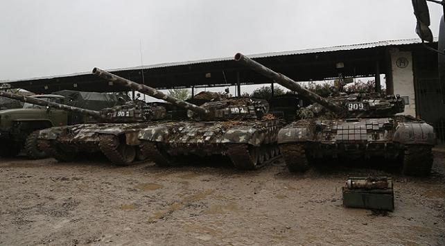 Azerbaycan, Ermeni ordusundan ele geçirilenleri paylaştı
