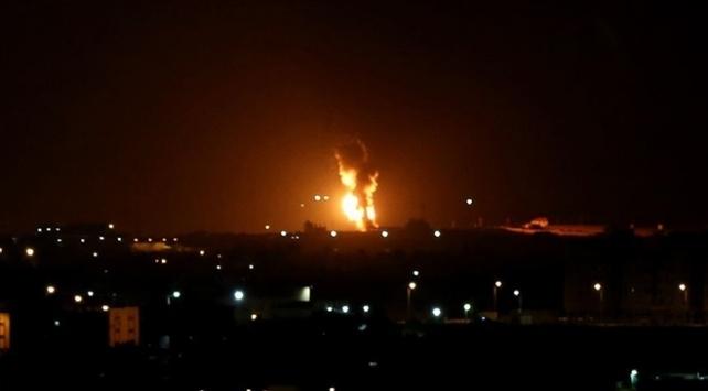 İsrail, Gazzede Hamasa ait bir noktayı vurdu
