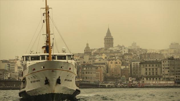 Marmaraya toz taşınımı uyarısı