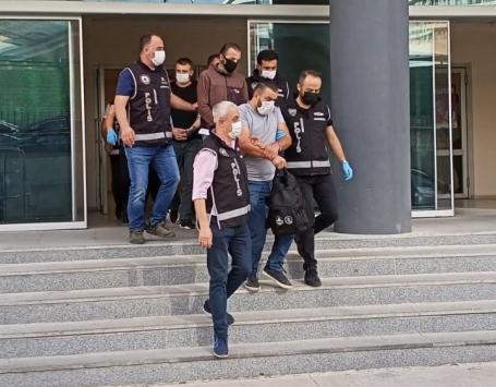 Bursada suç örgütü operasyonunda biri polis 3 şüpheli tutuklandı