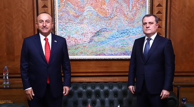 Çavuşoğlu: Ermenistanın sivil yerleşimlere saldırıları insanlık suçudur
