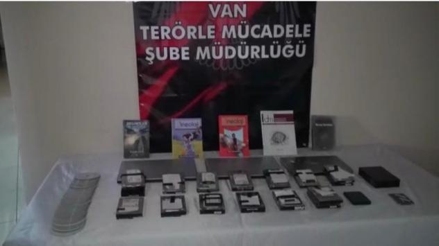 Vanda terör örgütü PKKya yönelik operasyonda 6 şüpheli yakalandı