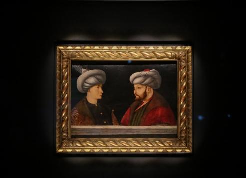 Fatihin portresi halk ziyaretine açıldı