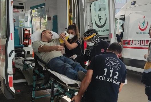 İnegölde mobilya imalathanesinde iş kazası: 1 yaralı