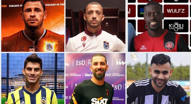 Süper Ligde 1. transfer dönemi hareketli geçti