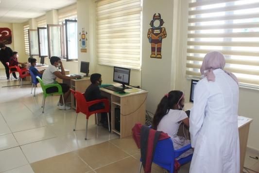 Kiliste kurulan EBA destek noktaları eğitime katkı sağlıyor