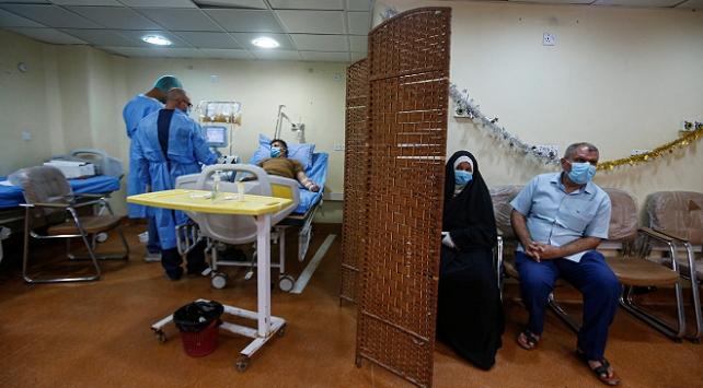 Irakta son 24 saatte 73 kişi koronavirüsten öldü