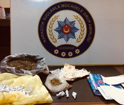 Kırklarelinde uyuşturucu operasyonunda yakalanan 4 zanlı tutuklandı