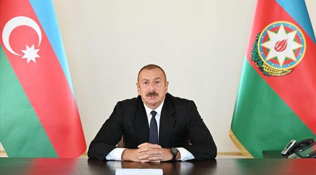 Azerbaycan Cumhurbaşkanı Aliyev: Sorun, Azerbaycan ile Ermenistan dışına çıkamaz