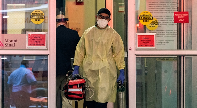 ABDde 980 kişi daha koronavirüsten öldü