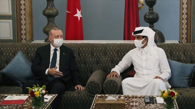 Erdoğanın ziyareti Katar basınında büyük yankı uyandırdı