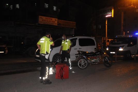 Cizrede iki motosiklet çarpıştı: 3 yaralı