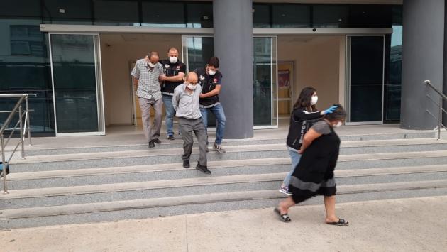 Bursada uyuşturucu operasyonunda yakalanan 3 zanlı tutuklandı