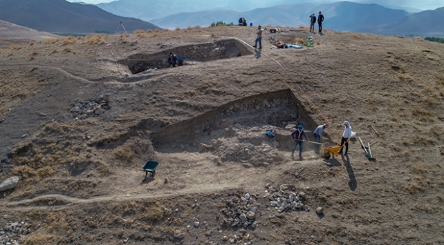 Vanda 5 bin yıl öncesine ait yaşam izleri tespit edildi