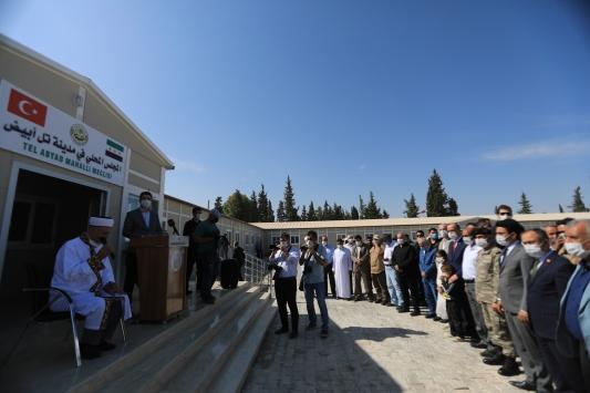 Tel Abyadın yeni Yerel Meclis binası törenle açıldı