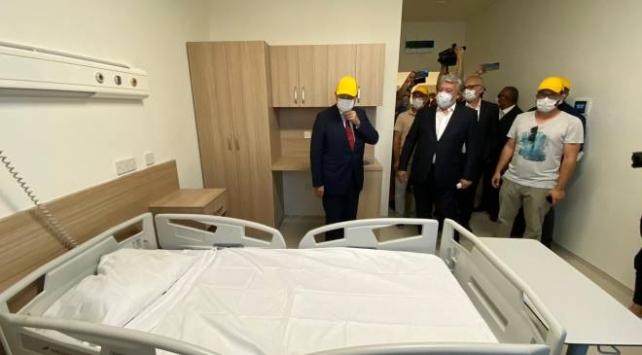 KKTC Başbakanı Tatar, acil durum hastanesinde incelemelerde bulundu
