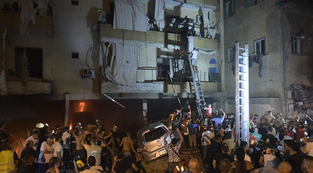 Lübnanda yakıt deposunda patlama: 4 ölü