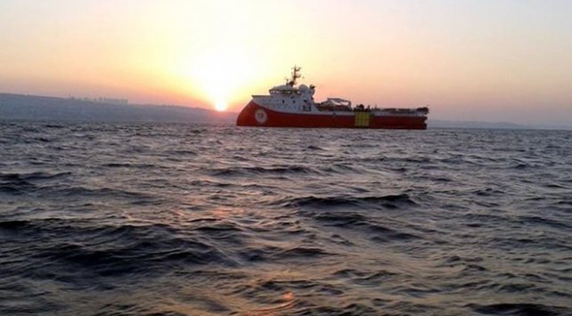 Barbaros Hayreddin Paşa gemisi Doğu Akdenizde 9 Kasıma kadar çalışacak