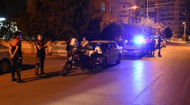 Adana dur ihtarına uymayan sürücü kovalamaca sonucu yakalandı