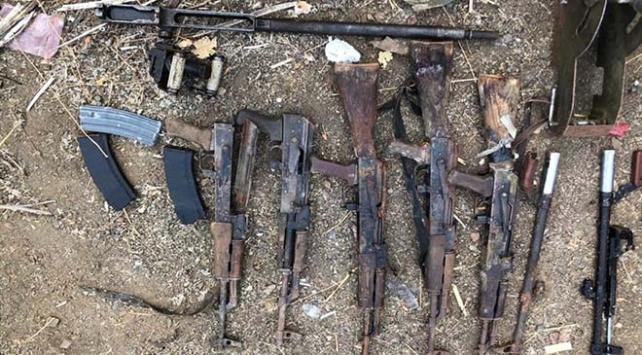 Irakın kuzeyinde PKKya ait malzemeler ele geçirildi