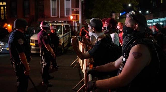 ABDde polis şiddeti karşıtı protesto: 28 gözaltı