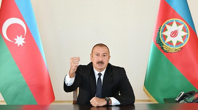 Aliyevden Ermenistana: Azerbaycan tarafı tüm bunlara layıkıyla cevap verecek