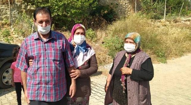 Mahsur kaldıkları Libyadan kurtarılan 2 Türk işçi ailelerine kavuştu