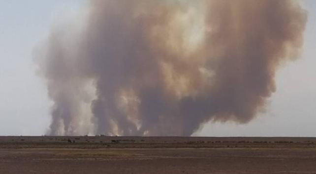 Sultan Sazlığı Milli Parkında yangın