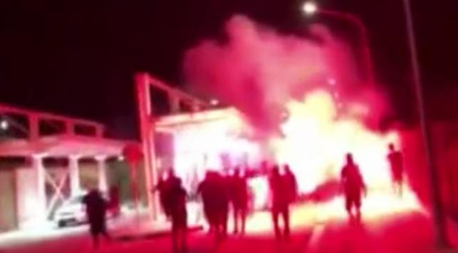 Kıbrısta ırkçı ELAMdan Maraş provokasyonu