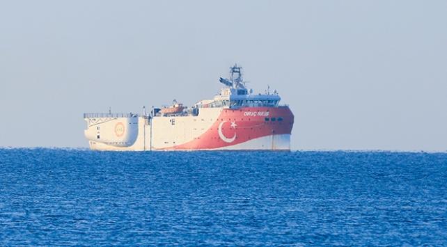 Oruç Reis gemisi Antalya Limanından ayrıldı