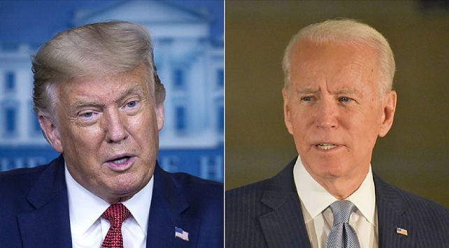 Biden, bağışlarda Trumpı geride bıraktı
