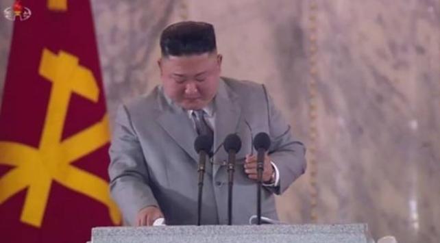 Kim Jong Un ağlayarak halkından özür diledi