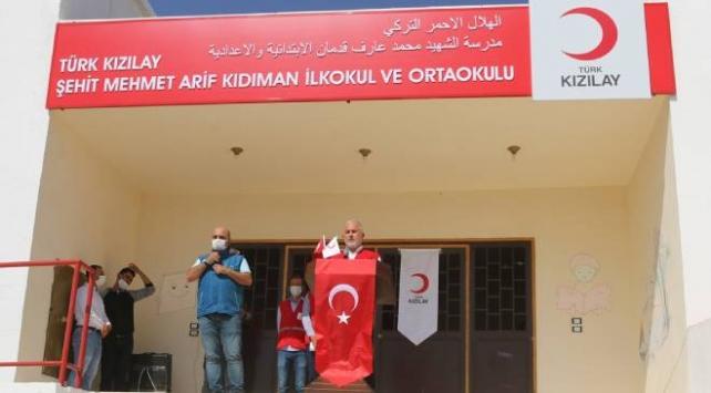 Kızılay şehidi Kıdımanın adı Suriyede yaşatılacak