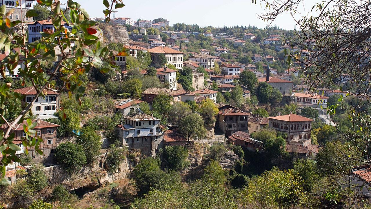Tarihi konaklarıyla Safranbolu