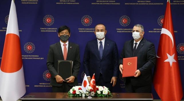Türkiye ile Japonya arasında Teknik İşbirliği Anlaşması imzalandı