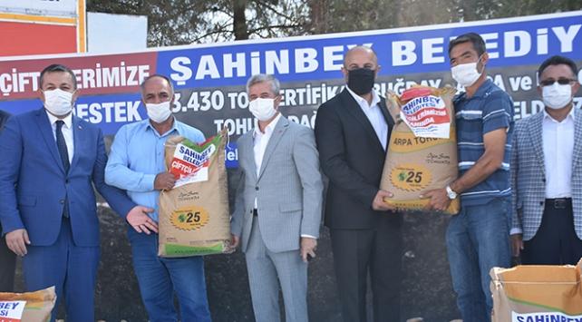 Gaziantepte çiftçilere 3 bin 430 ton tohum desteği