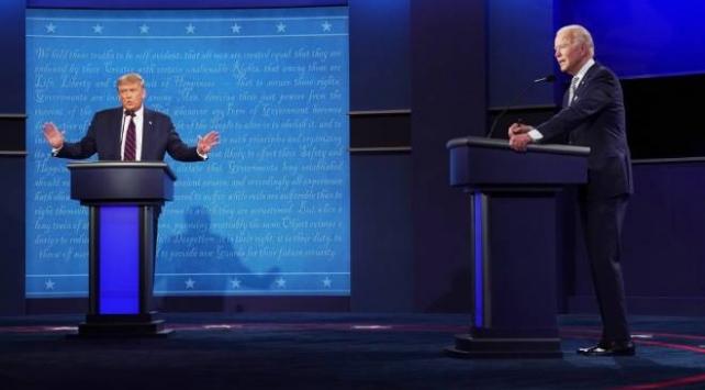 Anketlerdeki son duruma göre Biden Trumpın 10 puan önünde