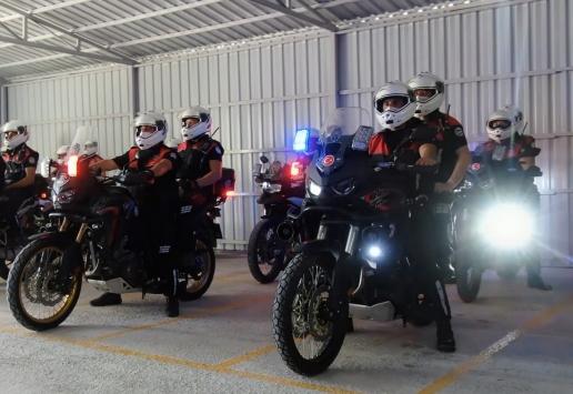 Samsunda motosikletli ve bisikletli polis timleri suçlulara göz açtırmadı