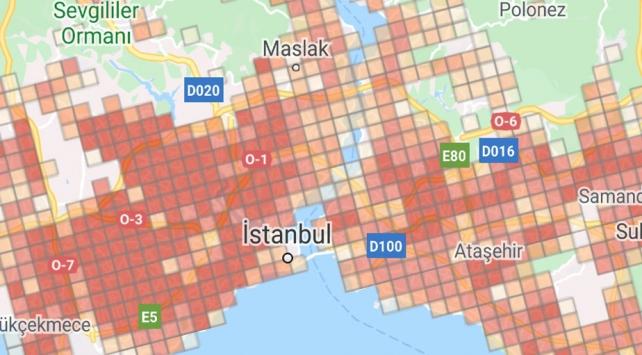 İstanbulda vaka sayıları yeniden arttı... İlçe ilçe İstanbul koronavirüs haritası…