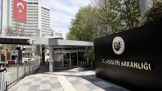 Dışişleri Bakanlığı Sözcüsü Aksoydan ABDye Oruç Reis tepkisi