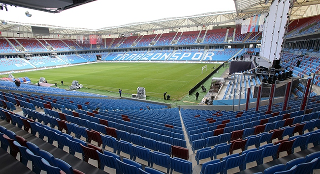 Trabzonsporda locaların maçlık satışına başlandı