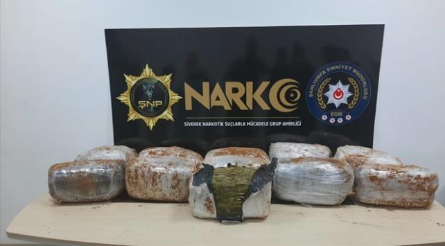Şanlıurfada 72 kilogram uyuşturucu ele geçirildi