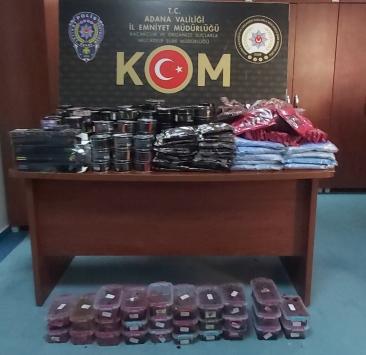Adanada kaçakçılık operasyonunda 2 zanlı gözaltına alındı